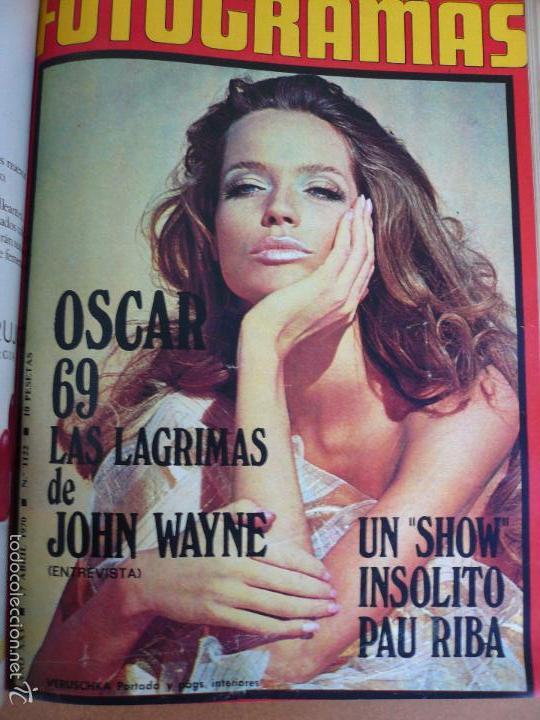 Cine: FOTOGRAMAS ENERO - JUNIO 1970 DEL Nº 1107 AL Nº 1132 CONTIENE Nº ESPECIAL BEATLES - Foto 9 - 55570880