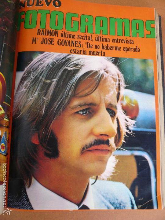 Cine: FOTOGRAMAS ENERO - JUNIO 1970 DEL Nº 1107 AL Nº 1132 CONTIENE Nº ESPECIAL BEATLES - Foto 10 - 55570880