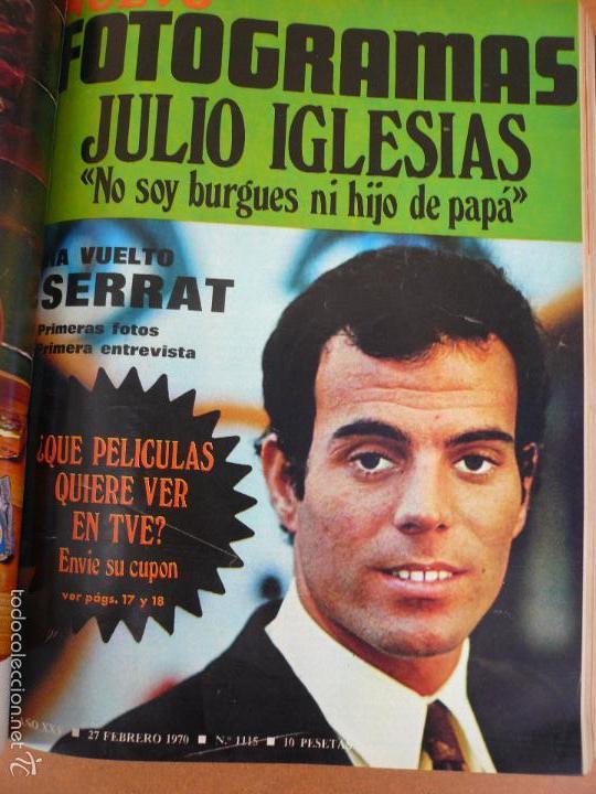 Cine: FOTOGRAMAS ENERO - JUNIO 1970 DEL Nº 1107 AL Nº 1132 CONTIENE Nº ESPECIAL BEATLES - Foto 12 - 55570880