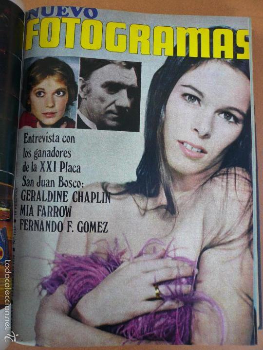 Cine: FOTOGRAMAS ENERO - JUNIO 1970 DEL Nº 1107 AL Nº 1132 CONTIENE Nº ESPECIAL BEATLES - Foto 14 - 55570880