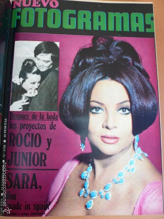Cine: FOTOGRAMAS ENERO - JUNIO 1970 DEL Nº 1107 AL Nº 1132 CONTIENE Nº ESPECIAL BEATLES - Foto 15 - 55570880