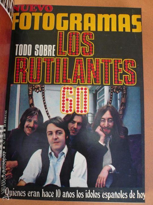 Cine: FOTOGRAMAS ENERO - JUNIO 1970 DEL Nº 1107 AL Nº 1132 CONTIENE Nº ESPECIAL BEATLES - Foto 16 - 55570880