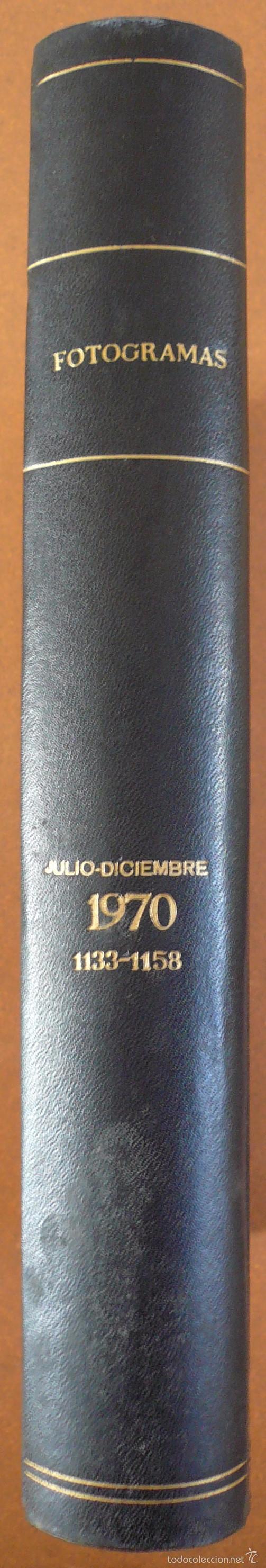 Cine: FOTOGRAMAS JULIO - DICIEMBRE 1970 DEL Nº 1133 AL Nº 1158 - Foto 2 - 55571049