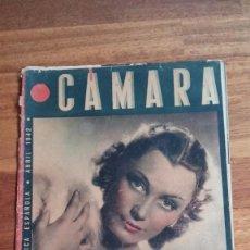 Cine: CAMARA , REVISTA CINEMATOGRAFICA , ESPAÑOLA , ABRIL 1942 .. Lote 55829429