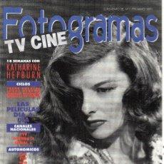 Cine: FOTOGRAMAS TV Y CINE, SUPLEMENTO DEL Nº 1774. Lote 55936171