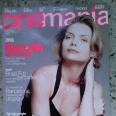 Cine: REVISTA CINEMANIA N 4 MICHELLE PHEIFER, SEVEN, BOLLAIN. Lote 56009121