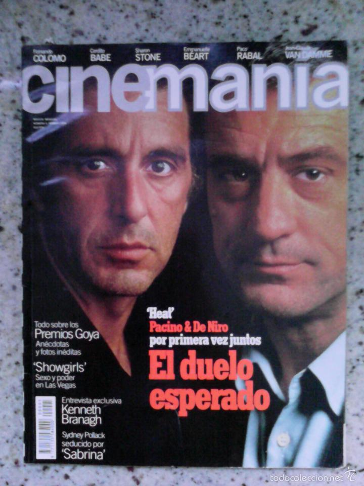 REVISTA CINEMANIA N 5. PACINO, DE NIRO, SABRINA, SHOWGIRLS (Cine - Revistas - Cinemanía)