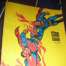 Cine: REVISTA CINE CUBANO 81 82 83 AÑOS 70 TARZAN WALT DISNEY BATMAN CRITICA IDEOLOGICA A LOS COMICS. Lote 56051180