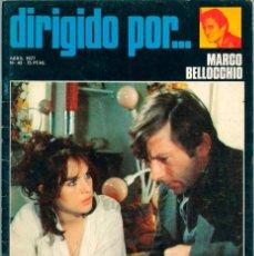 Cine: DIRIGIDO POR - Nº 43 - 1977 - MARCO BELLOCCHIO, GEORGE CUKOR, WALERIAN BOROWCZYK. Lote 56089188