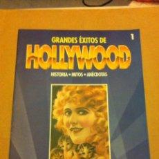 Cine: GRANDES EXITOS DE HOLLYWOOD- FASCÍCULO Nº. 1. Lote 56094824