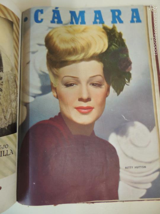 Cine: revista camara tomo encuadernado año 1949 nº del 149 al 167 (24 ejemplares) lauren bacall - Foto 2 - 56118506
