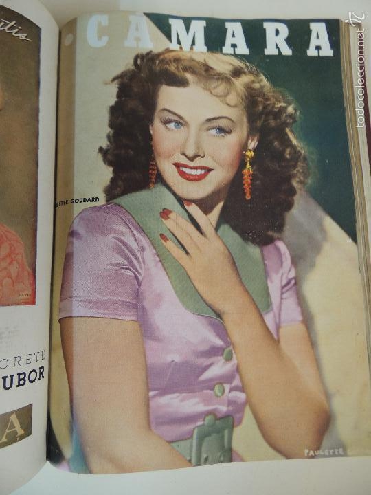 Cine: revista camara tomo encuadernado año 1949 nº del 149 al 167 (24 ejemplares) lauren bacall - Foto 4 - 56118506
