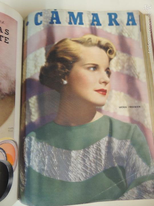 Cine: revista camara tomo encuadernado año 1949 nº del 149 al 167 (24 ejemplares) lauren bacall - Foto 6 - 56118506