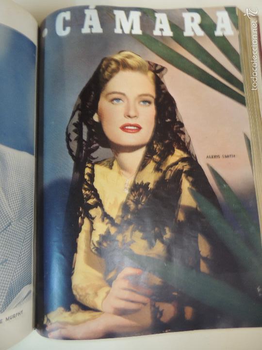 Cine: revista camara tomo encuadernado año 1949 nº del 149 al 167 (24 ejemplares) lauren bacall - Foto 7 - 56118506