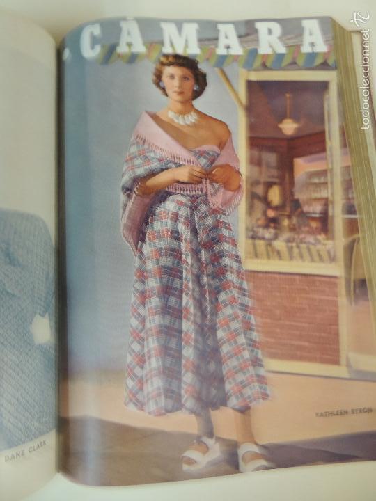 Cine: revista camara tomo encuadernado año 1949 nº del 149 al 167 (24 ejemplares) lauren bacall - Foto 8 - 56118506