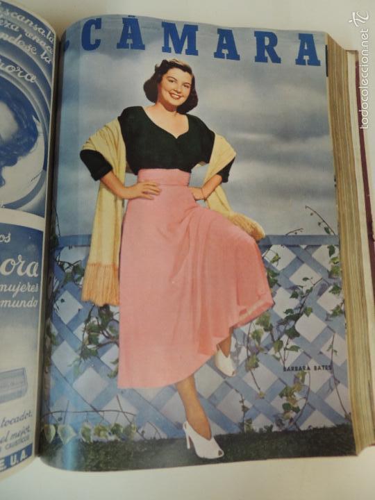 Cine: revista camara tomo encuadernado año 1949 nº del 149 al 167 (24 ejemplares) lauren bacall - Foto 9 - 56118506