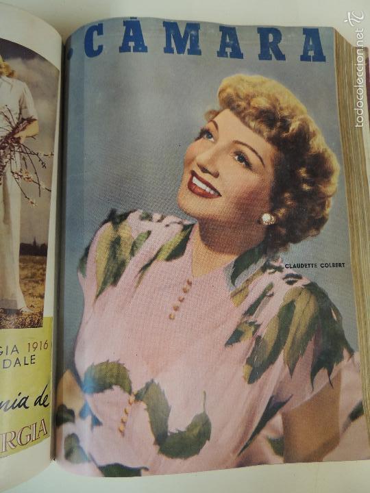 Cine: revista camara tomo encuadernado año 1949 nº del 149 al 167 (24 ejemplares) lauren bacall - Foto 10 - 56118506