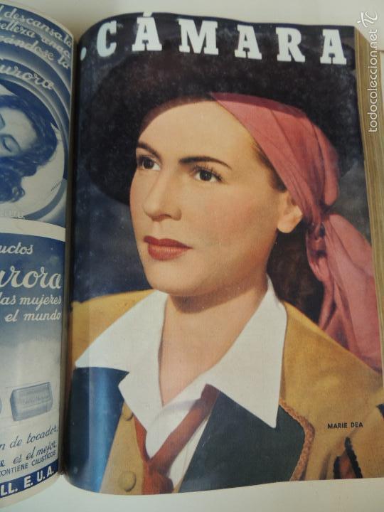 Cine: revista camara tomo encuadernado año 1949 nº del 149 al 167 (24 ejemplares) lauren bacall - Foto 11 - 56118506