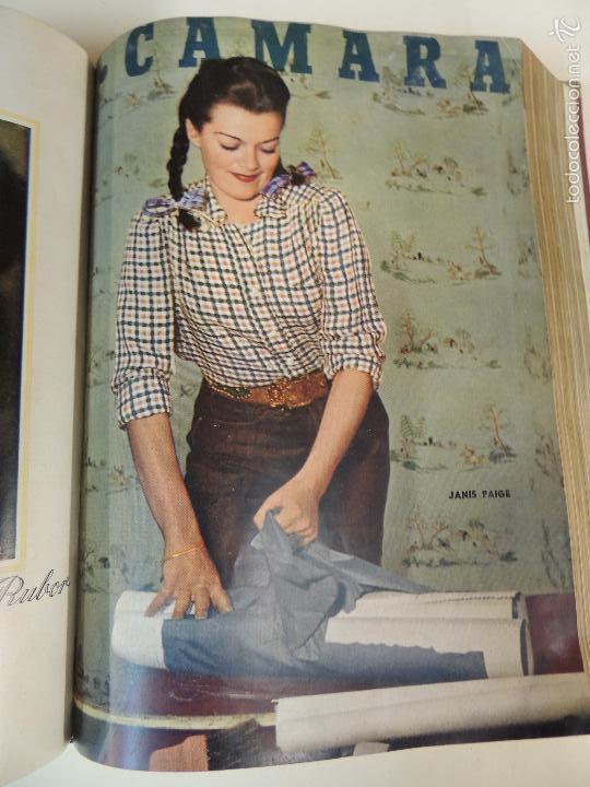 Cine: revista camara tomo encuadernado año 1949 nº del 149 al 167 (24 ejemplares) lauren bacall - Foto 12 - 56118506