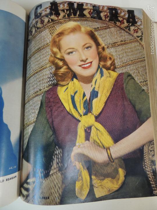 Cine: revista camara tomo encuadernado año 1949 nº del 149 al 167 (24 ejemplares) lauren bacall - Foto 13 - 56118506