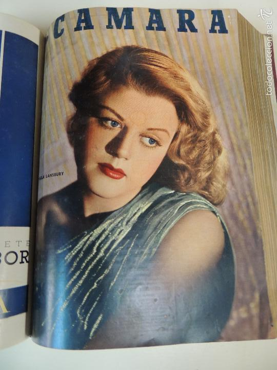 Cine: revista camara tomo encuadernado año 1949 nº del 149 al 167 (24 ejemplares) lauren bacall - Foto 14 - 56118506