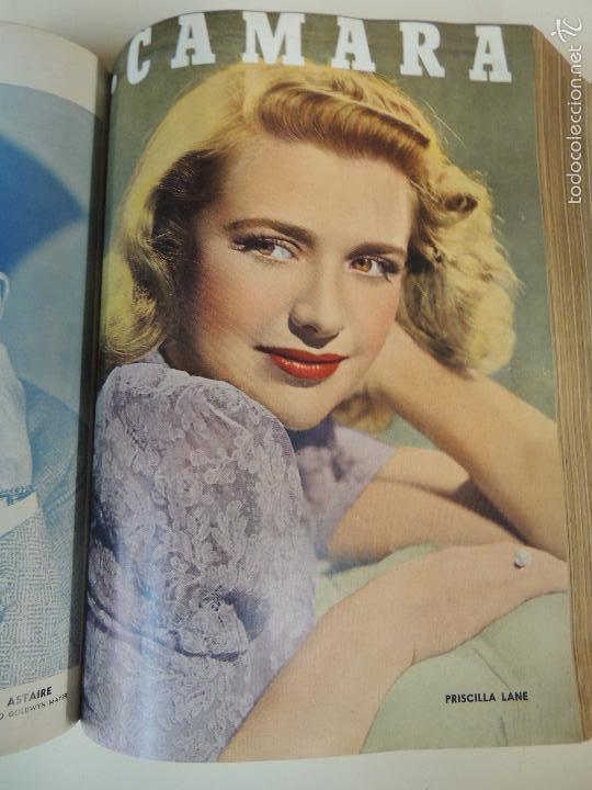 Cine: revista camara tomo encuadernado año 1949 nº del 149 al 167 (24 ejemplares) lauren bacall - Foto 15 - 56118506