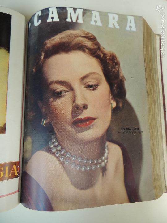 Cine: revista camara tomo encuadernado año 1949 nº del 149 al 167 (24 ejemplares) lauren bacall - Foto 16 - 56118506