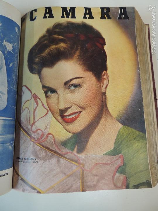 Cine: revista camara tomo encuadernado año 1949 nº del 149 al 167 (24 ejemplares) lauren bacall - Foto 17 - 56118506