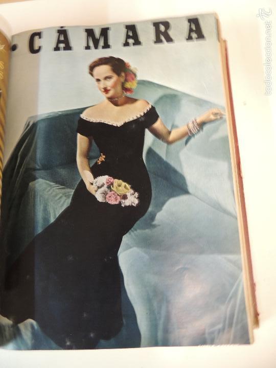 Cine: revista camara tomo encuadernado año 1949 nº del 149 al 167 (24 ejemplares) lauren bacall - Foto 18 - 56118506