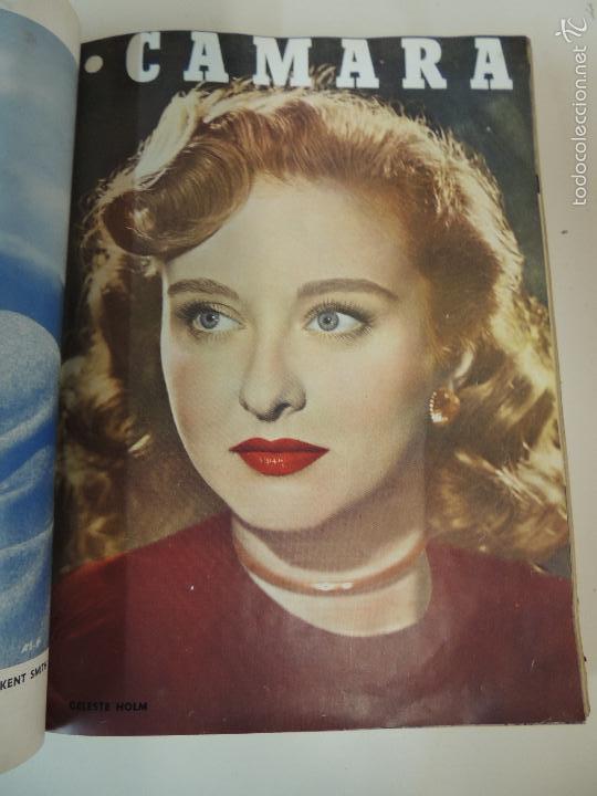 Cine: revista camara tomo encuadernado año 1949 nº del 149 al 167 (24 ejemplares) lauren bacall - Foto 19 - 56118506