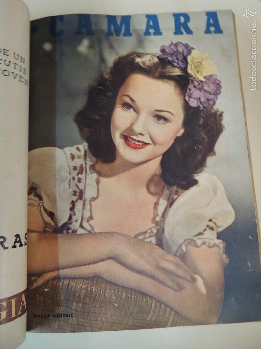 Cine: revista camara tomo encuadernado año 1949 nº del 149 al 167 (24 ejemplares) lauren bacall - Foto 20 - 56118506
