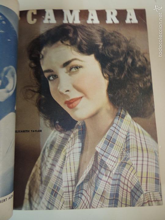 Cine: revista camara tomo encuadernado año 1949 nº del 149 al 167 (24 ejemplares) lauren bacall - Foto 21 - 56118506