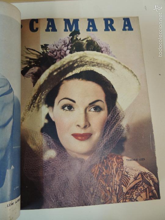 Cine: revista camara tomo encuadernado año 1949 nº del 149 al 167 (24 ejemplares) lauren bacall - Foto 22 - 56118506