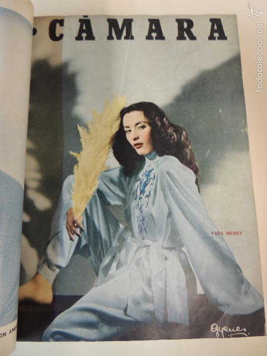 Cine: revista camara tomo encuadernado año 1949 nº del 149 al 167 (24 ejemplares) lauren bacall - Foto 23 - 56118506