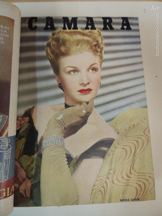 Cine: revista camara tomo encuadernado año 1949 nº del 149 al 167 (24 ejemplares) lauren bacall - Foto 24 - 56118506