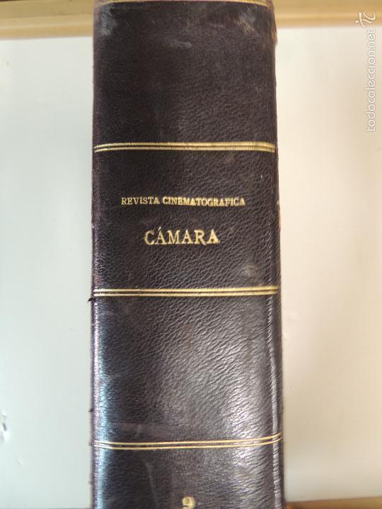 Cine: revista camara tomo encuadernado año 1949 nº del 149 al 167 (24 ejemplares) lauren bacall - Foto 26 - 56118506