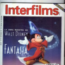 Cine: INTERFILMS REVISTA DE CINE NUMERO 39 - 1991. Lote 56188592