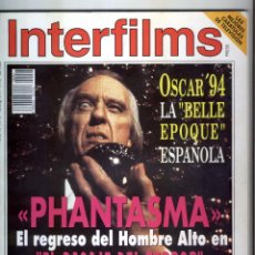 Cine: INTERFILMS REVISTA DE CINE NUMERO 67 -1994. Lote 56188637