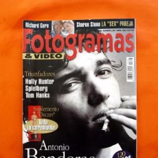 Cine: FOTOGRAMAS - Nº 1807 - ANTONIO BANDERAS, NUESTRO HOMBRE EN HOLLYWOOD - ABRIL 1994 - . Lote 56225228