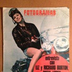 Cine: REVISTA FOTOGRAMAS - 5 DE MAYO 1967 - PORTADA EVA RENZI. Lote 56286213