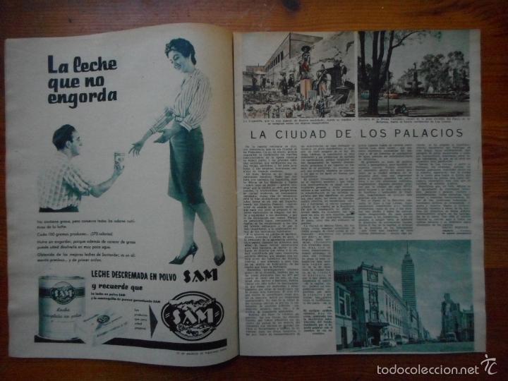 Cine: Ondas, Revista Cine nº 155, mayo 1959. Miss Universo, Gina Lollobrigida, Maria Callas, Ana Mariscal - Foto 2 - 150651622