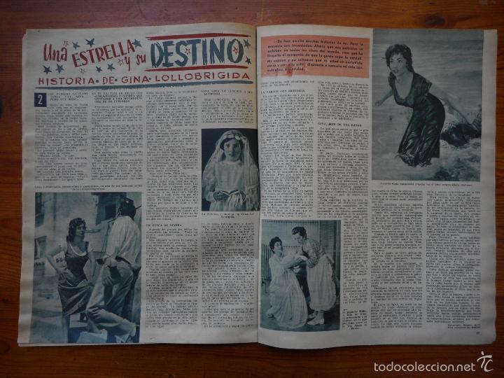 Cine: Ondas, Revista Cine nº 152, abril 1959. Nuria Espert, Adolfo Marsillach, Gina Lollobrigida - Foto 2 - 56302072