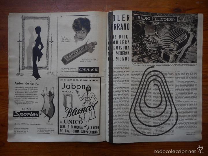 Cine: Ondas, Revista Cine nº 152, abril 1959. Nuria Espert, Adolfo Marsillach, Gina Lollobrigida - Foto 3 - 56302072