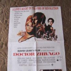 Cine: CARTEL DOCTOR ZHIVAGO 67 X 48 CM EDICION LIMITADA NUMERADO. Lote 56302393