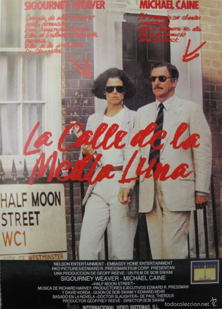 PÓSTER LA CALLE DE LA MEDIA LUNA (Cine - Reproducciones de carteles, folletos...)