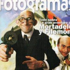 Cine: LA GRAN AVENTURA DE MORTADELO Y FILEMÓN, SUPLEMENTO FOTOGRAMAS. Lote 56522726