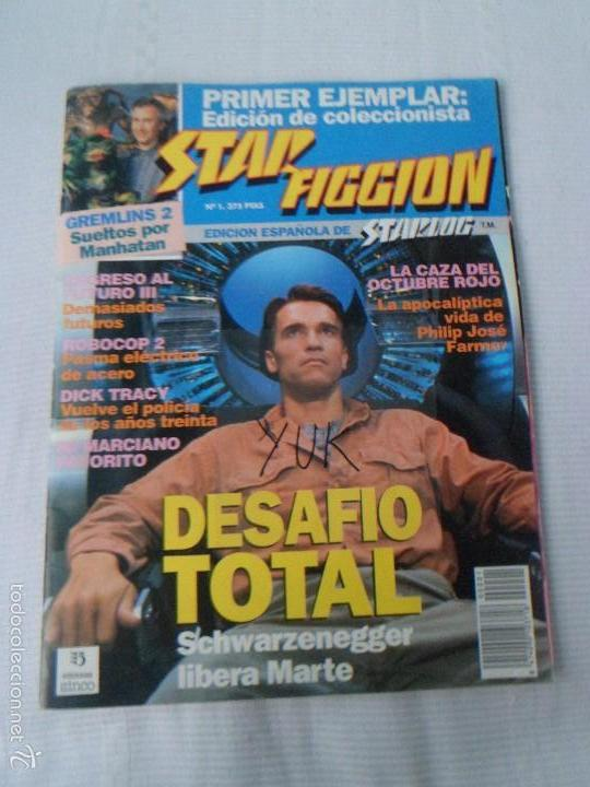 STAR FICCION Nº NUMERO 1 - EDICIONES ZINCO (Cine - Revistas - Star Ficcion)