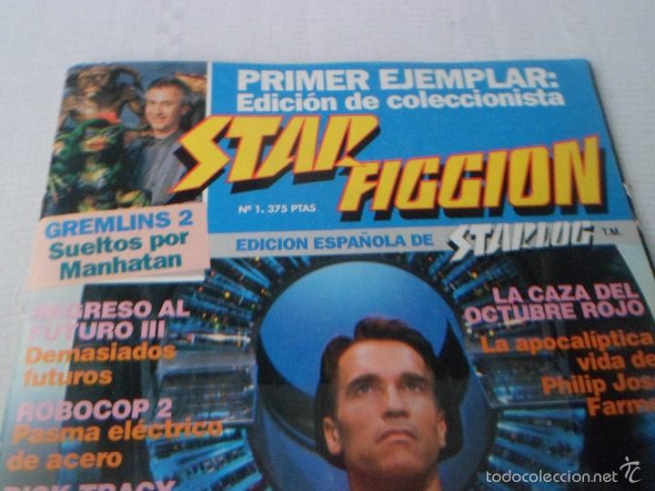 Cine: STAR FICCION Nº NUMERO 1 - EDICIONES ZINCO - Foto 2 - 56686588