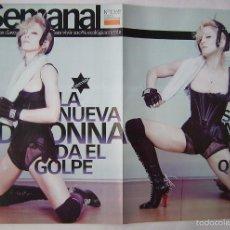Cine: MADONNA, REVISTA SEMANAL 2008.. Lote 105454815