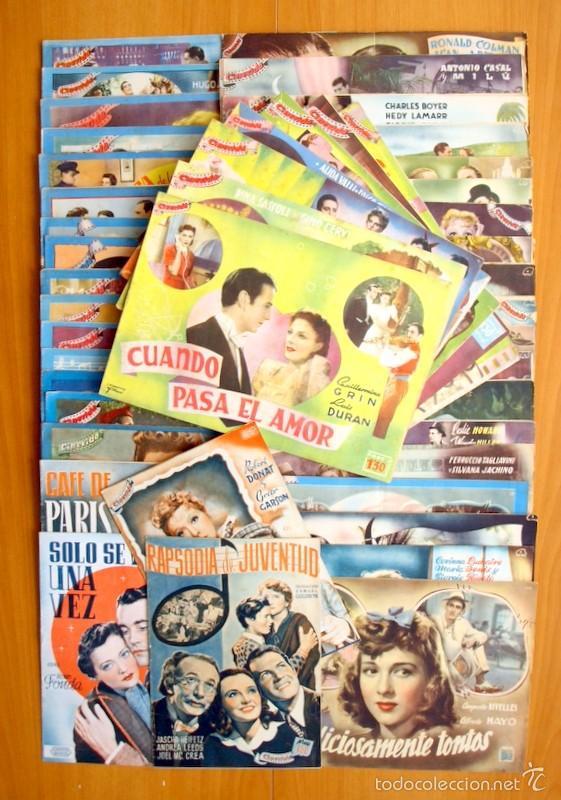 CINEVIDA - LOTE DE 47 EJEMPLARES DIFERENTES -EDITORIAL HISPANO AMERICANA -VER DENTRO FOTOS Y TITULOS (Cine - Revistas - Otros)